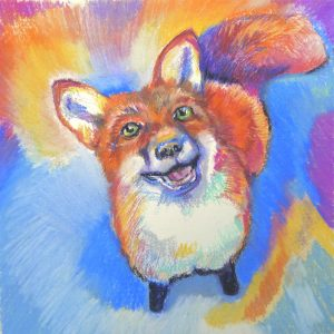 Photo of the painting Fox